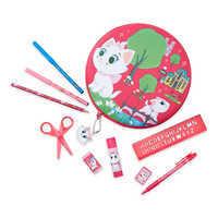Image of Marie Zip-Up Stationery Kit - Disney Furrytale friends # 1