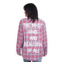 Image of Mulan Flannel Shirt for Adults by Cakeworthy # 5