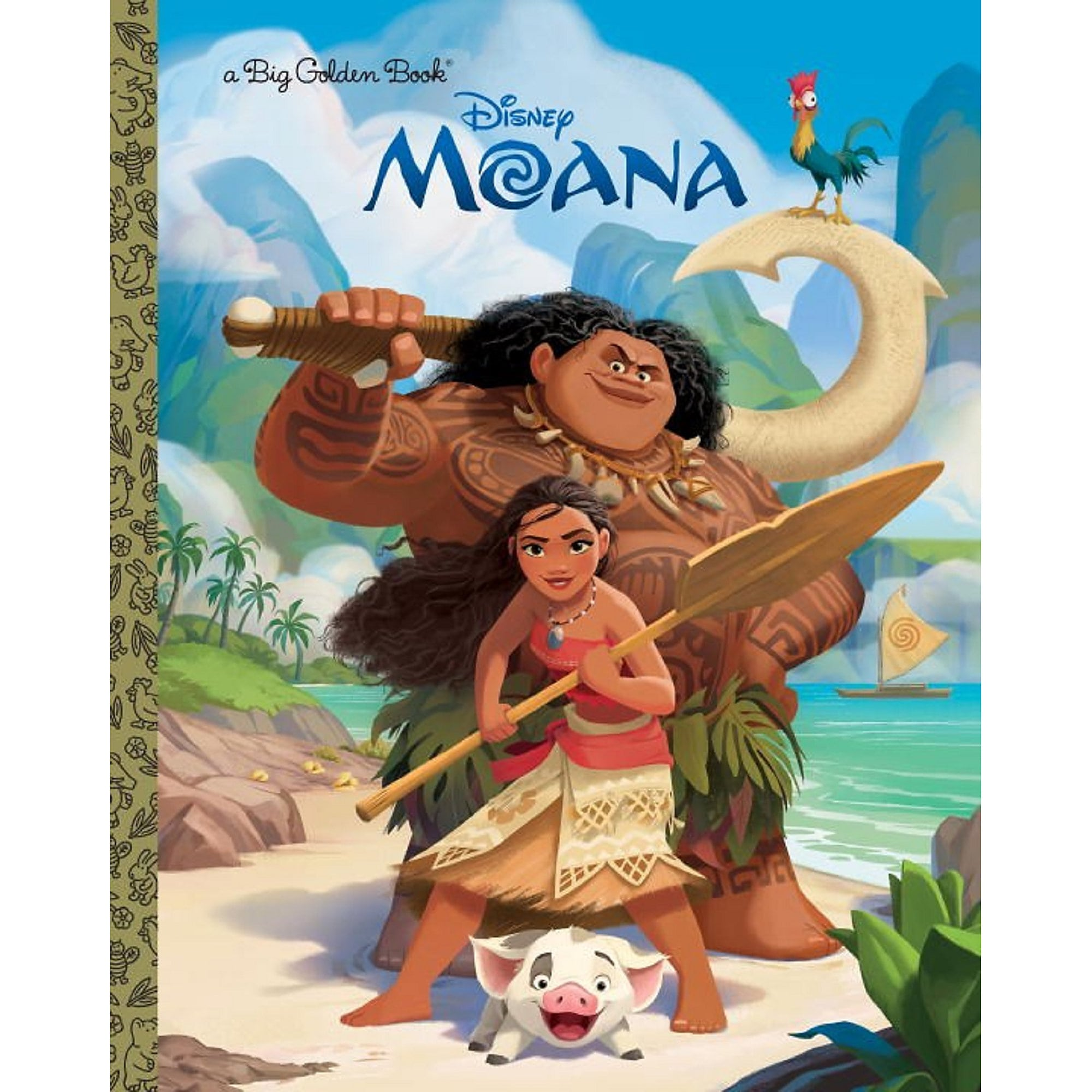 Disney Moana Big Golden Book