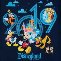 Image of Mickey Mouse and Friends T-Shirt for Kids - Disneyland 2019 # 2