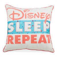 Image of ''Disney Sleep Repeat'' Pillow # 1