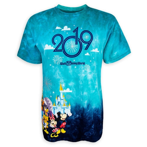 Mickey Mouse And Friends Tie Dye T Shirt For Adults Walt