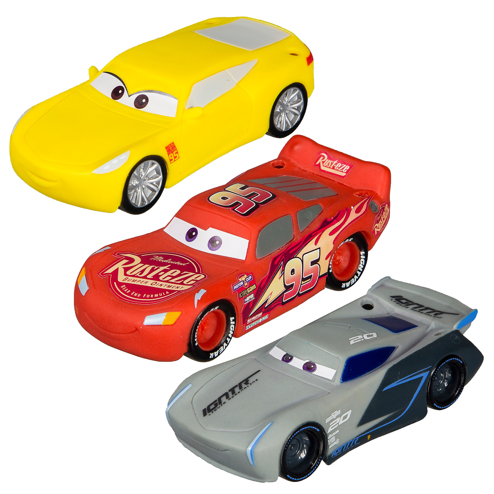 Cars 3 Dive Characters