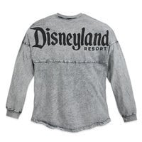 Image of Disneyland Mineral Wash Spirit Jersey for Adults - Gray # 2