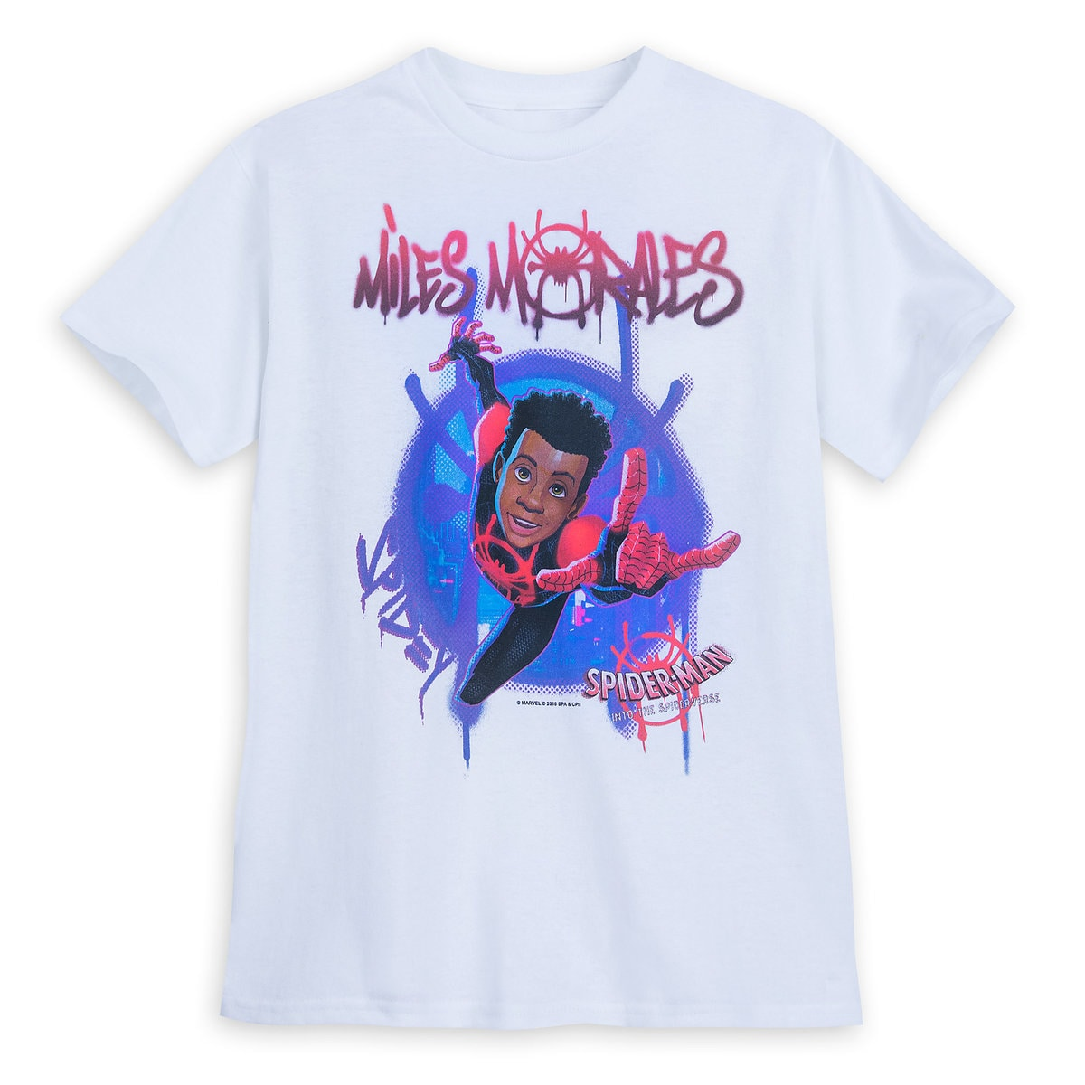 16c3c6a8 Spider-Man: Into the Spider-Verse Miles Morales T-Shirt for Boys ...