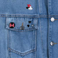 Image of Minnie Mouse Club Denim Jacket for Women # 3