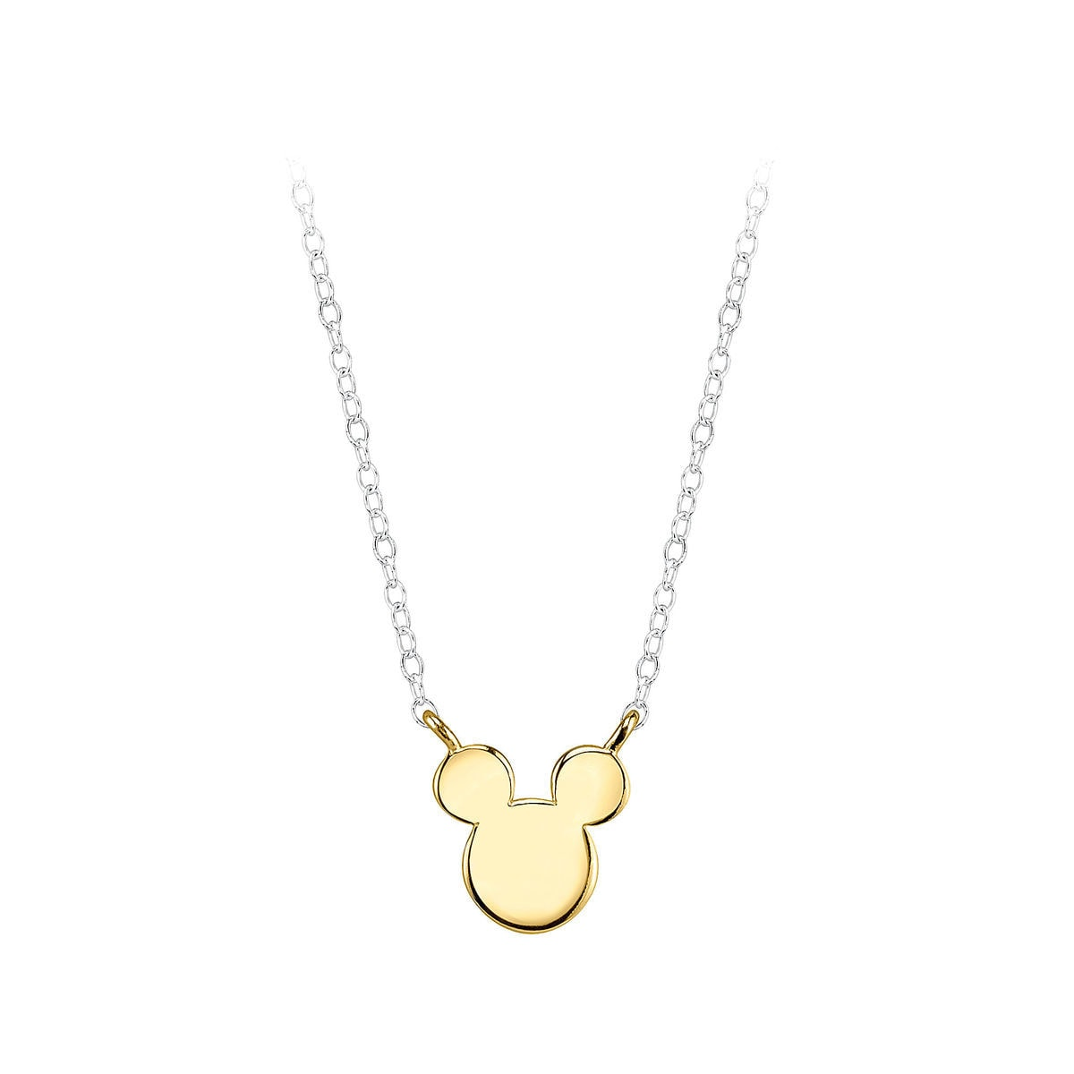 Product Image of Mickey Mouse Sterling Silver Ears Necklace # 1
