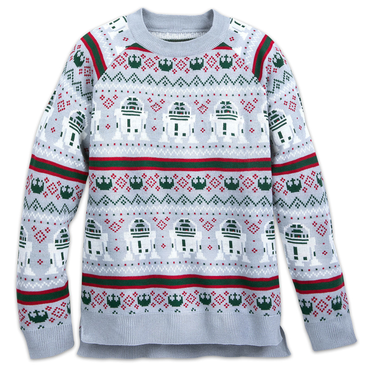 Product Image of Star Wars Light-Up Holiday Sweater for Adults # 1