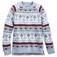 Image of Star Wars Light-Up Holiday Sweater for Adults # 1