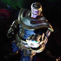 Image of Thanos Action Figure by Marvel Select - 7'' # 9