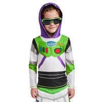 Image of Buzz Lightyear Hooded Rash Guard for Kids # 2