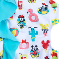 Image of Mickey and Minnie Mouse Summer Fun Swimsuit for Girls # 4