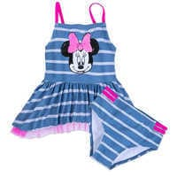 Image of Minnie Mouse Sequin Swimsuit for Girls # 1