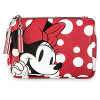 Image of Minnie Mouse Cosmetic Bag Set by Loungefly # 3