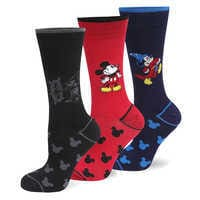 Image of Mickey Mouse Sock Set for Men # 1