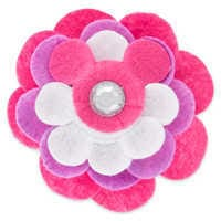 Image of Mickey Mouse Pet Collar Flower Accessory # 1