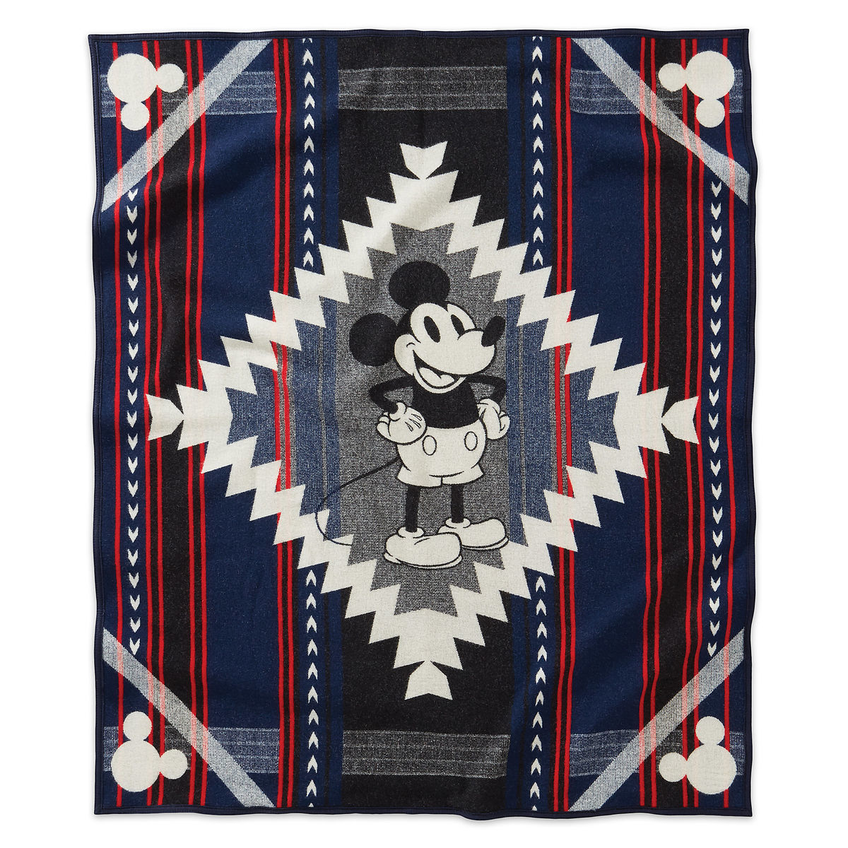 mickey mouse ''debut'' blanketpendleton - limited edition