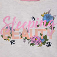 Image of Sleeping Beauty Long Sleeve Sleepwear Shirt for Women # 2