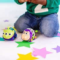 Image of Buzz Lightyear and Toy Story Alien Go Grippers Car Set for Baby by Bright Starts # 2