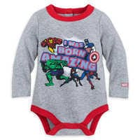 Image of Marvel Comics Cuddly Bodysuit for Baby # 1