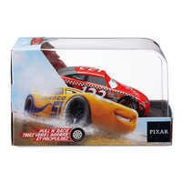 Image of Todd ''The Shockster'' Marcus Pull 'N' Race Die Cast Car - Cars # 3