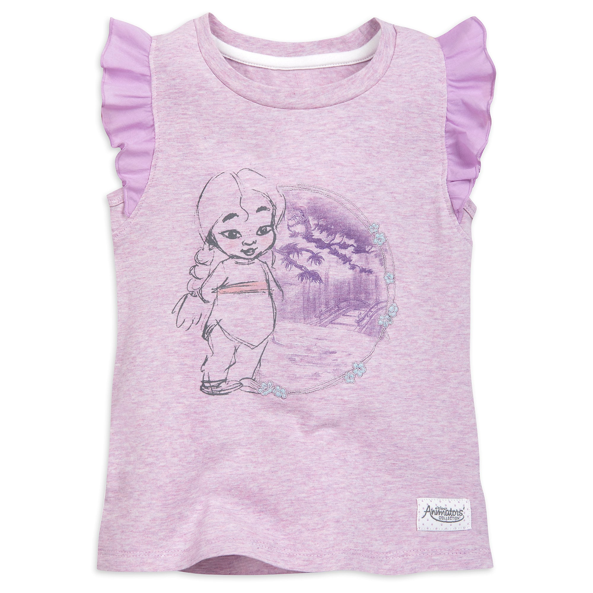Mulan Tank Top for Girls - Disney Animators' Collection