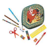 디즈니 라이온킹 '티몬과 품바' 문구 세트 Disney The Lion King Zip-Up Stationery Kit