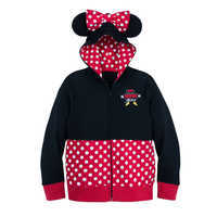 Image of I Am Minnie Mouse Zip-Up Hoodie for Girls # 1