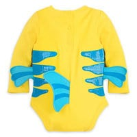 Image of Flounder Costume Bodysuit for Baby - The Little Mermaid # 5