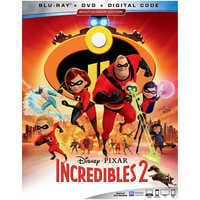 Image of Incredibles 2 Blu-ray Combo Pack - with FREE Lithograph Set Offer - Pre-Order # 1