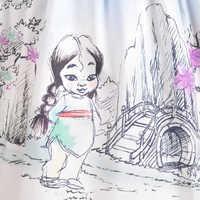 Image of Disney Animators' Collection Fancy Dress for Girls - Mulan # 3