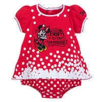 Image of Minnie Mouse Bodysuit Set for Baby - Disneyland # 2