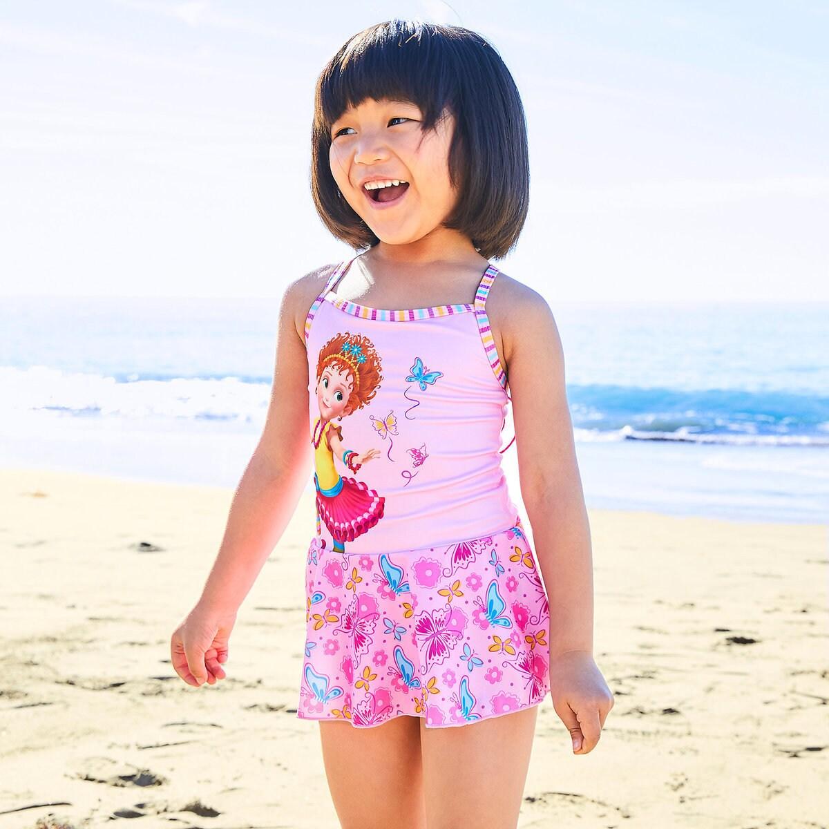 9501ae7e0c Fancy Nancy Swimsuit for Girls   shopDisney