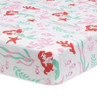 Image of Ariel's Grotto Crib Bedding Set by Lambs & Ivy - The Little Mermaid # 3