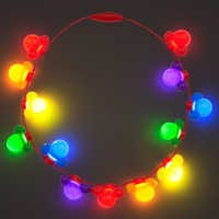 Image of Rainbow Disney Collection Mickey Mouse Light-Up Necklace # 2