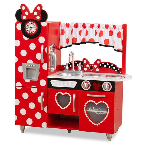 Minnie Mouse Play Kitchen: Minnie Mouse Vintage Play Kitchen By KidKraft