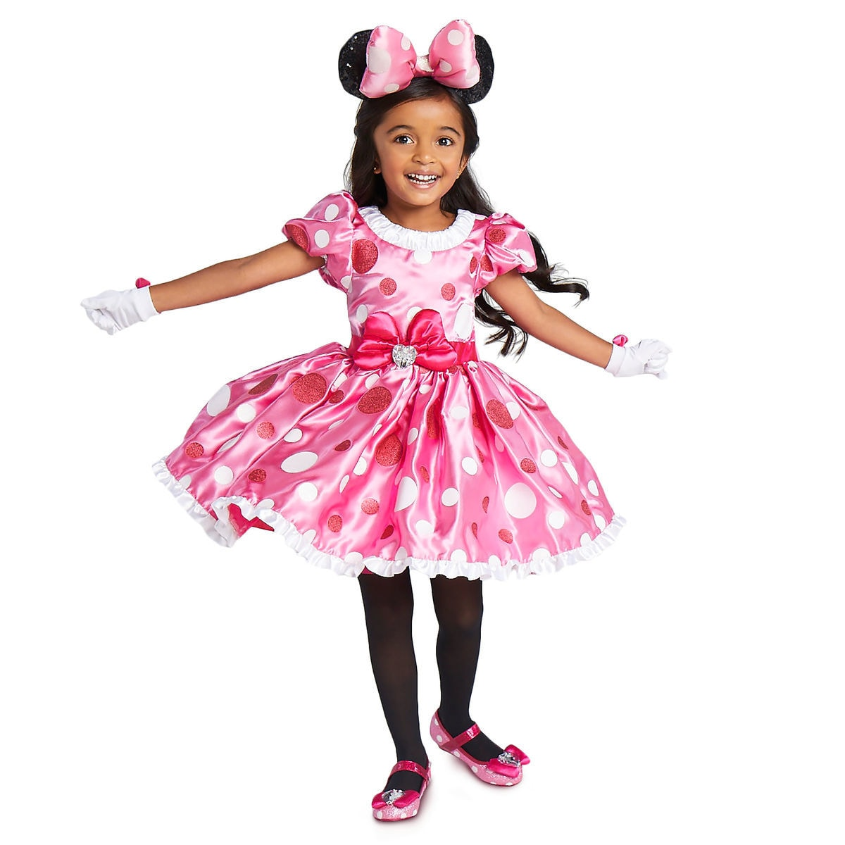 minnie mouse pink dress costume for kids shopdisney