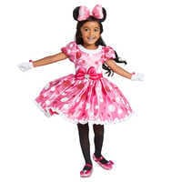 Image of Minnie Mouse Pink Dress Costume for Kids # 2