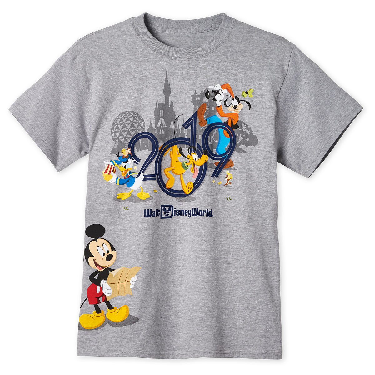 Mickey Mouse And Friends T Shirt For Adults Walt Disney World 2019