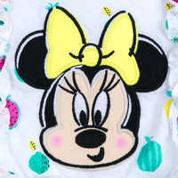 Image of Minnie Mouse Fruit Print Dress Set for Baby # 5