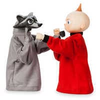 Image of Jack-Jack and Raccoon Boxing Puppet Set - Incredibles 2 # 3