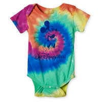 Image of Mickey Mouse Tie-Dye Bodysuit for Baby - Walt Disney World # 1