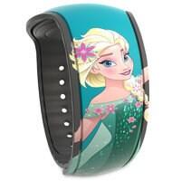 Image of Elsa MagicBand 2 - Frozen Fever # 1
