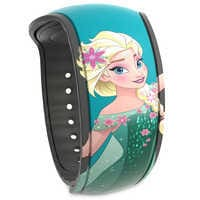 Image of Elsa MagicBand 2 - Frozen Fever # 1