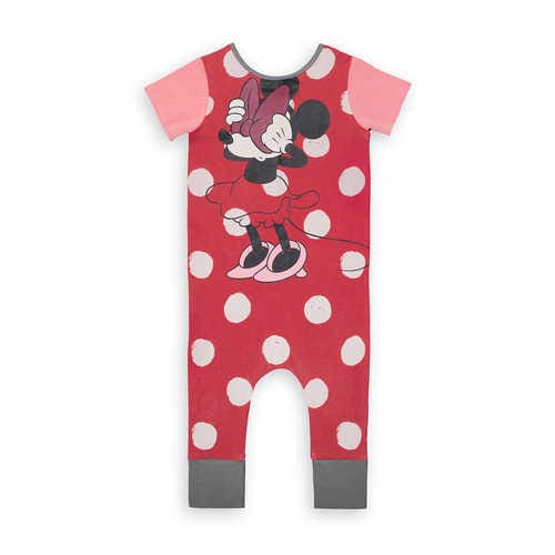 Disney Minnie Mouse Polka Dot Romper for Baby and Toddler by Rags