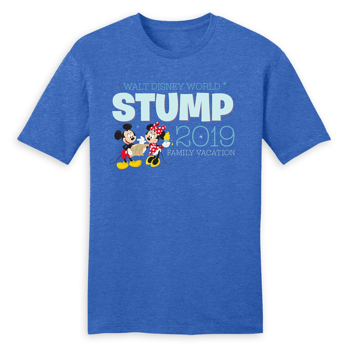 8c13ce4eb080 Product Image of Mickey and Minnie Mouse Family Vacation T-Shirt for Men -  Walt