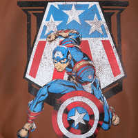 Image of Captain America Flying Jacket for Boys # 7