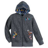 Image of Mickey Mouse and Friends Knit Hoodie for Boys - Disneyland 2019 # 1