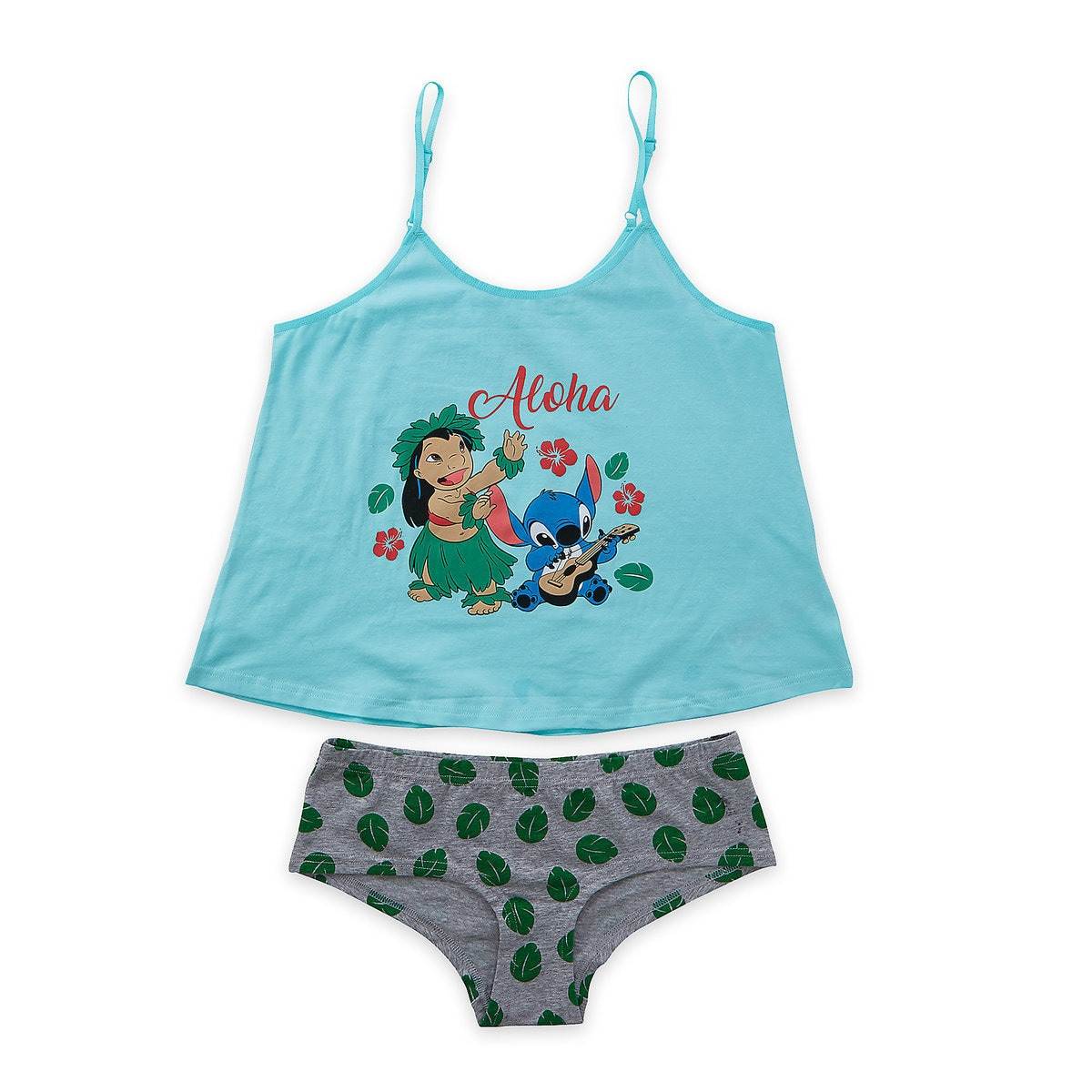 5f6755bf89c87 Product Image of Lilo & Stitch Cami and Brief Set for Women # 2