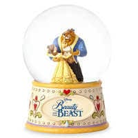 Image of Beauty and the Beast 'Tale As Old As Time' Snowglobe - Jim Shore # 3